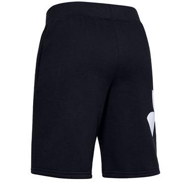 Under Armour Junior - Boys Rival Fleece Logo Shorts Black 001