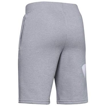 Under Armour Junior - Boys Rival Fleece Logo Shorts Grey 011