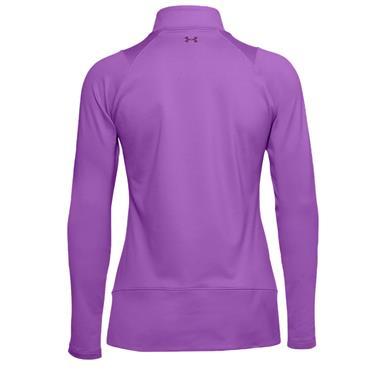 Under Armour Ladies Midlayer ½ Zip Top Purple 568