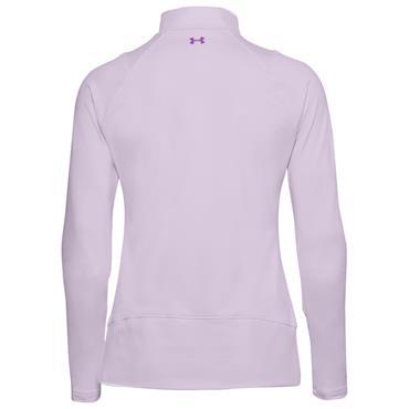 Under Armour Ladies Midlayer ½ Zip Top Purple 570