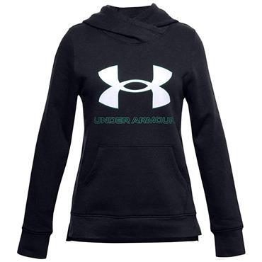 Under Armour Junior - Girls Rival Fleece Logo Hoodie Black 001
