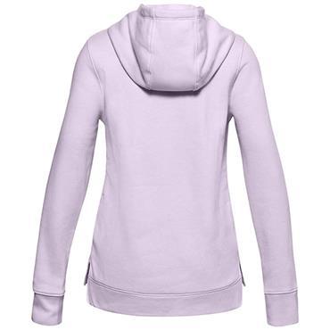 Under Armour Junior - Girls Rival Fleece Logo Hoodie Lilac 570