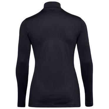 Under Armour Ladies ColdGear® Infrared Storm Long Sleeve Mock Black 001