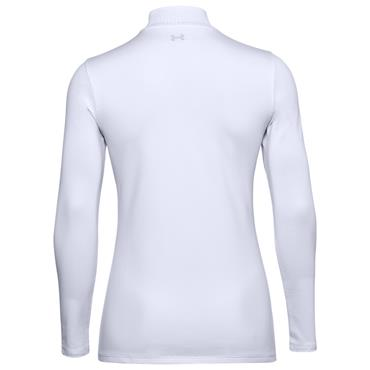 Under Armour Ladies ColdGear® Infrared Storm Long Sleeve Mock White 100