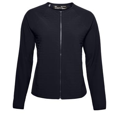 Under Armour Ladies Storm Revo Full Zip Shell Jacket Black 001