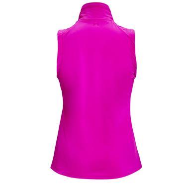 Under Armour Ladies Storm Revo Full Zip Gilet Pink 660