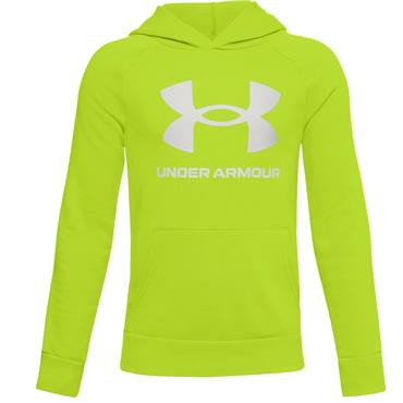 Under Armour Junior - Boys Rival Fleece Logo Hoodie Green 394