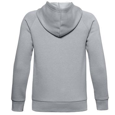Under Armour Junior - Boys Rival Cotton Hoodie Grey 011