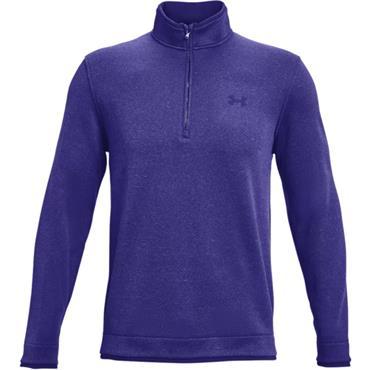 Under Armour Gents Storm Sweater Fleece 1/2 Zip Top Blue 415