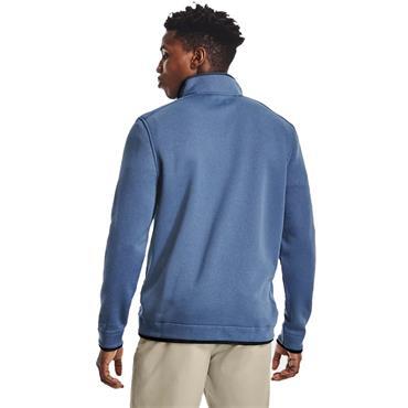 Under Armour Gents Storm Sweater Fleece ½ Zip Top Blue (470)