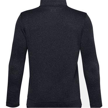 Under Armour Kids 1/2 Zip Sweaterfleece Black