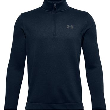 Junior Boys Under Armour Raid 1//4 Zip Jacket In Green Long Sleeve 1//4 Zip To
