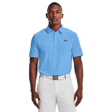 Under Armour Gents Vanish Seamless Mapped Polo Shirt Blue