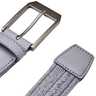 Under Armour Gents Braided Belt Steel
