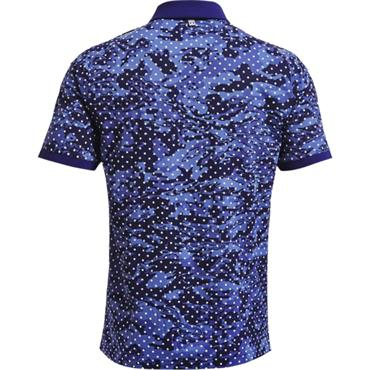 Under Armour Gents Iso-Chill Penta Dot Polo Blue