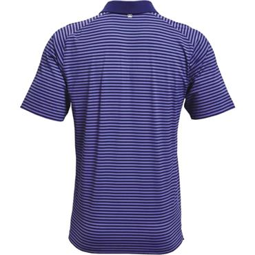 Under Armour Gents Iso Chill Hollen Stripe Polo Blue