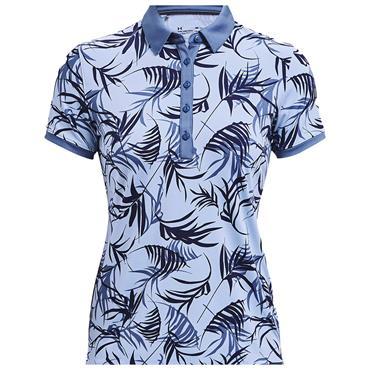 Under Armour Ladies Zinger Novelty Polo Shirt Blue 438