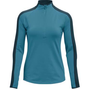 Under Armour Ladies Storm Midlayer Top Blue Flannel
