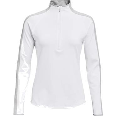 Under Armour Ladies Storm Midlayer Top White