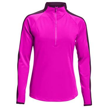 Under Armour Ladies Storm Midlayer ½ Zip Top Meteor Pink 660