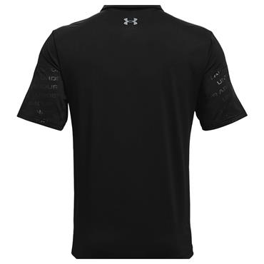 Under Armour Gents Playoff 2.0 Blocked Polo Shirt Black 001