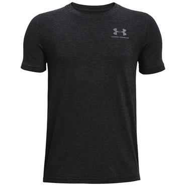 Under Armour Junior - Boys Cotton Shirt Black 001