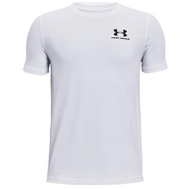 Under Armour Junior - Boys Cotton Shirt White 100