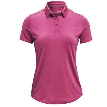 Under Armour Ladies Zinger Polo Shirt Pink 678