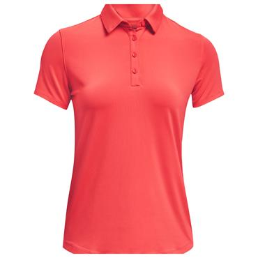 Under Armour Ladies Zinger Polo Shirt Red 690