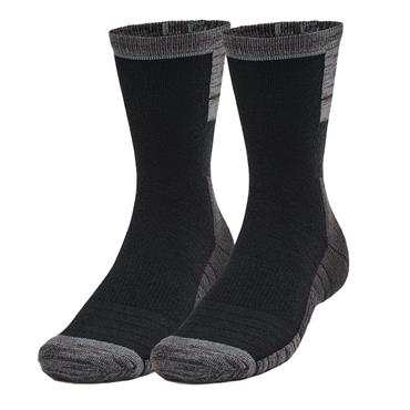 Under Armour Cold Weather Crew Socks 2-Pack Black