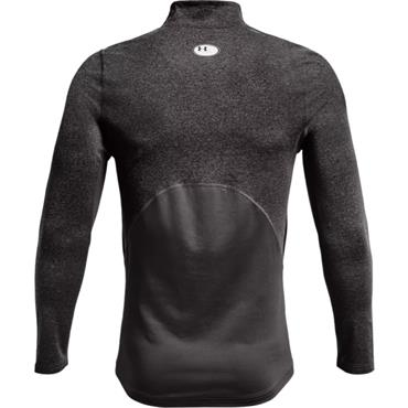 Under Armour Gents ColdGear® Armour Fitted Mock Charcoal