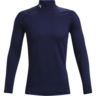 Under Armour Gents ColdGear® Armour Fitted Mock Navy