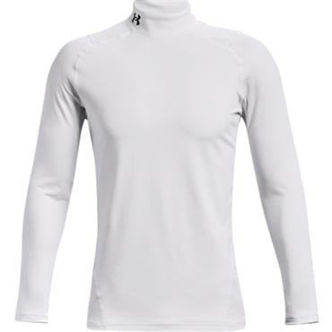 Under Armour Gents ColdGear® Armour Fitted Mock White