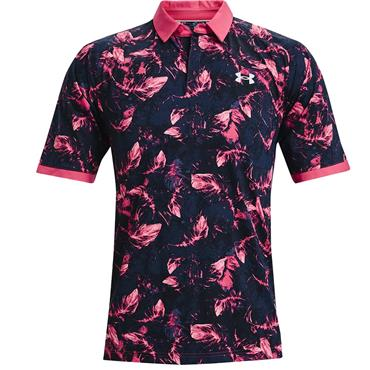 Under Armour Gents ISO-Chill BOF Polo Shirt Pink