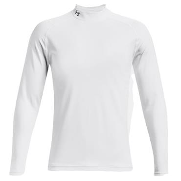 Under Armour Gents ColdGear® Infrared Long Sleeve Mock White