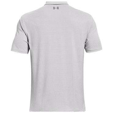 Under Armour Gents T2G Printed Polo Shirt Grey
