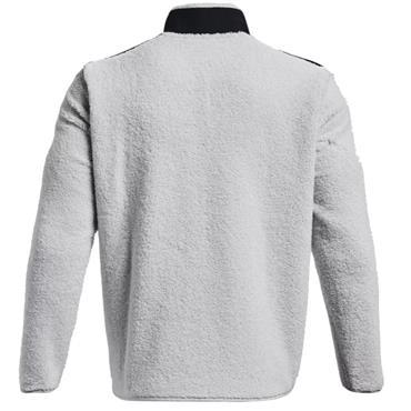 Under Armour Gents Sweaterfleece Full Zip Top Grey
