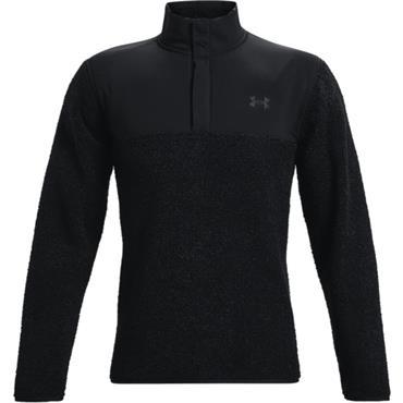 Under Armour Gents Sweaterfleece Pullover Black