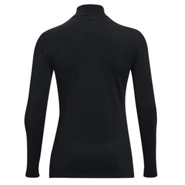 Under Armour Ladies ColdGear® Infrared Storm Long Sleeve Mock Black