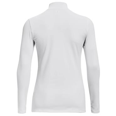 Under Armour Ladies ColdGear® Infrared Storm Long Sleeve Mock White