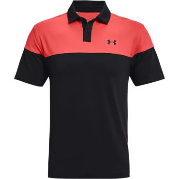 Under Armour Gents T2G Blocked Polo Shirt Black 002