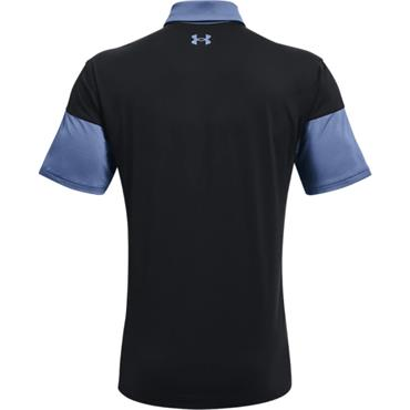 Under Armour Gents T2G Blocked Polo Shirt Blue 470