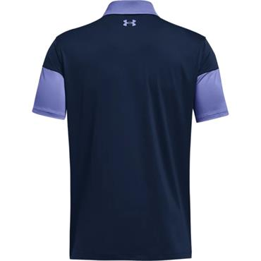 Under Armour Gents T2G Blocked Polo Shirt Starlight 561