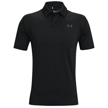 Under Armour Gents T2G Polo Shirt Black 001