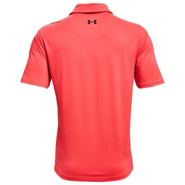Under Armour Gents T2G Polo Shirt Red 690