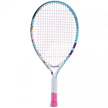 Babolat Junior B'Fly 21 Aluminium Tennis Racket Blue - White - Violet