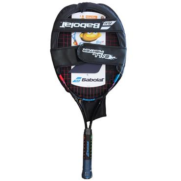 Babolat Junior Ballfighter 25 Aluminium Tennis Racket Black - Blue - Red