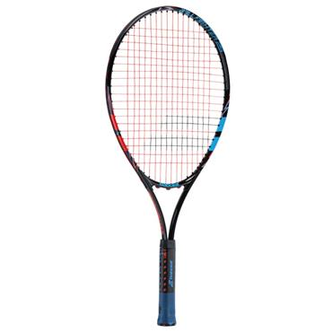 4d71674b Babolat Junior Ballfighter 25 Aluminium Tennis Racket Black - Blue - Red ...