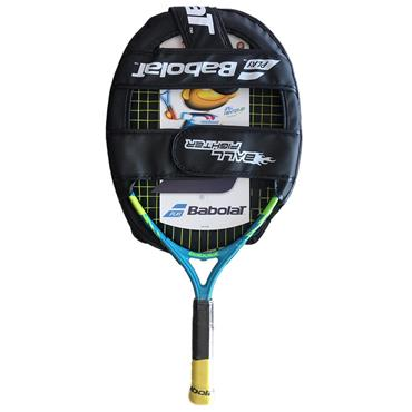26467224 ... Babolat Junior Ballfighter 21 Aluminium Tennis Racket Blue - Green -  Yellow