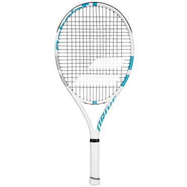 Babolat Drive Junior 25 Tennis Racket White - Blue